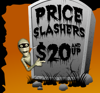 Price Slashers - $20 and up
