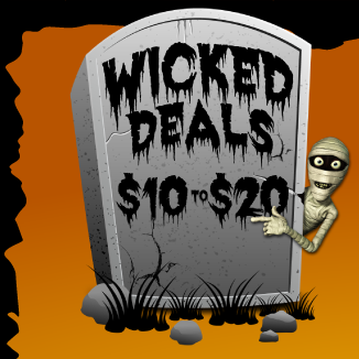 Wicked Deals - $10 to $20