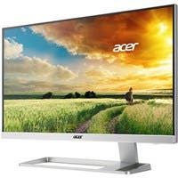 "Acer S277HK 27"" LED LCD Monitor - 16:9 - 4 ms - 3840 x 2160 - 1.07 Billion Colors - 300 Nit - 100,000,000:1 - 4K UHD - Speakers - DVI - HDMI - DisplayPort - White - MPR II"