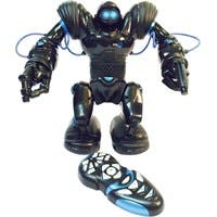 WowWee Robosapien, Blue - Humanoid Robot - Fast Moving - Remote Control or Connect to Smart Device - Walk Run Turn - Arms Functions - Two Types of Grippers