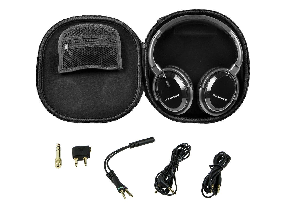 Large Product Image for Noise Cancelling Headphone w/ Active Noise Reduction Technology