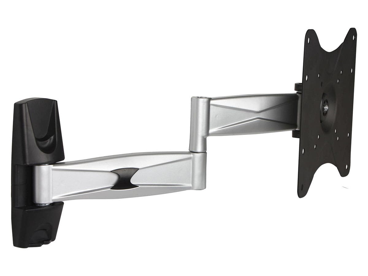 full motion tv wall mount max 55 lbs 23 42 inch