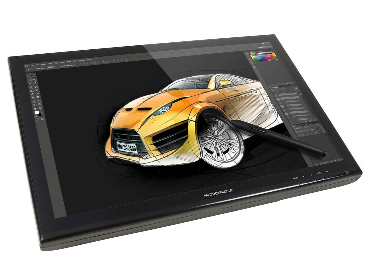 Large Product Image for 19-inch Interactive Pen Display - (1440 x 900) TFT, 2048 Levels, 5080 LPI, 16.7M Colors