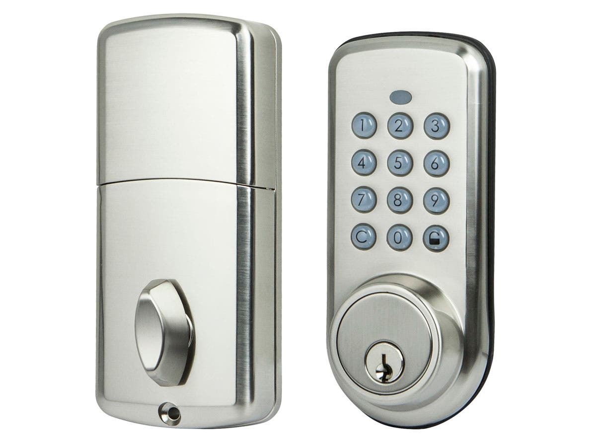 Z Wave Electronic Door Lock No Logo