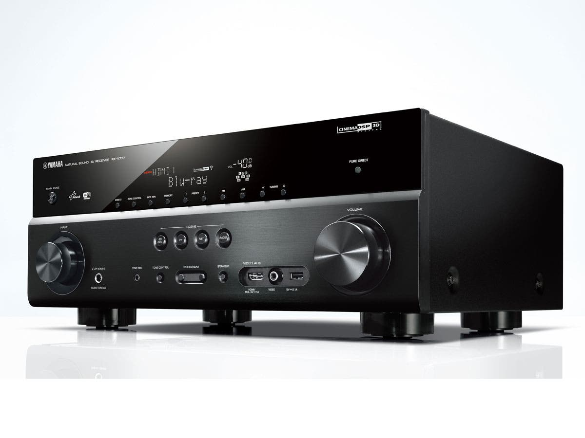 Rx v777bt yamaha 7 2 channel network av receiver w for Yamaha home theatre customer care number