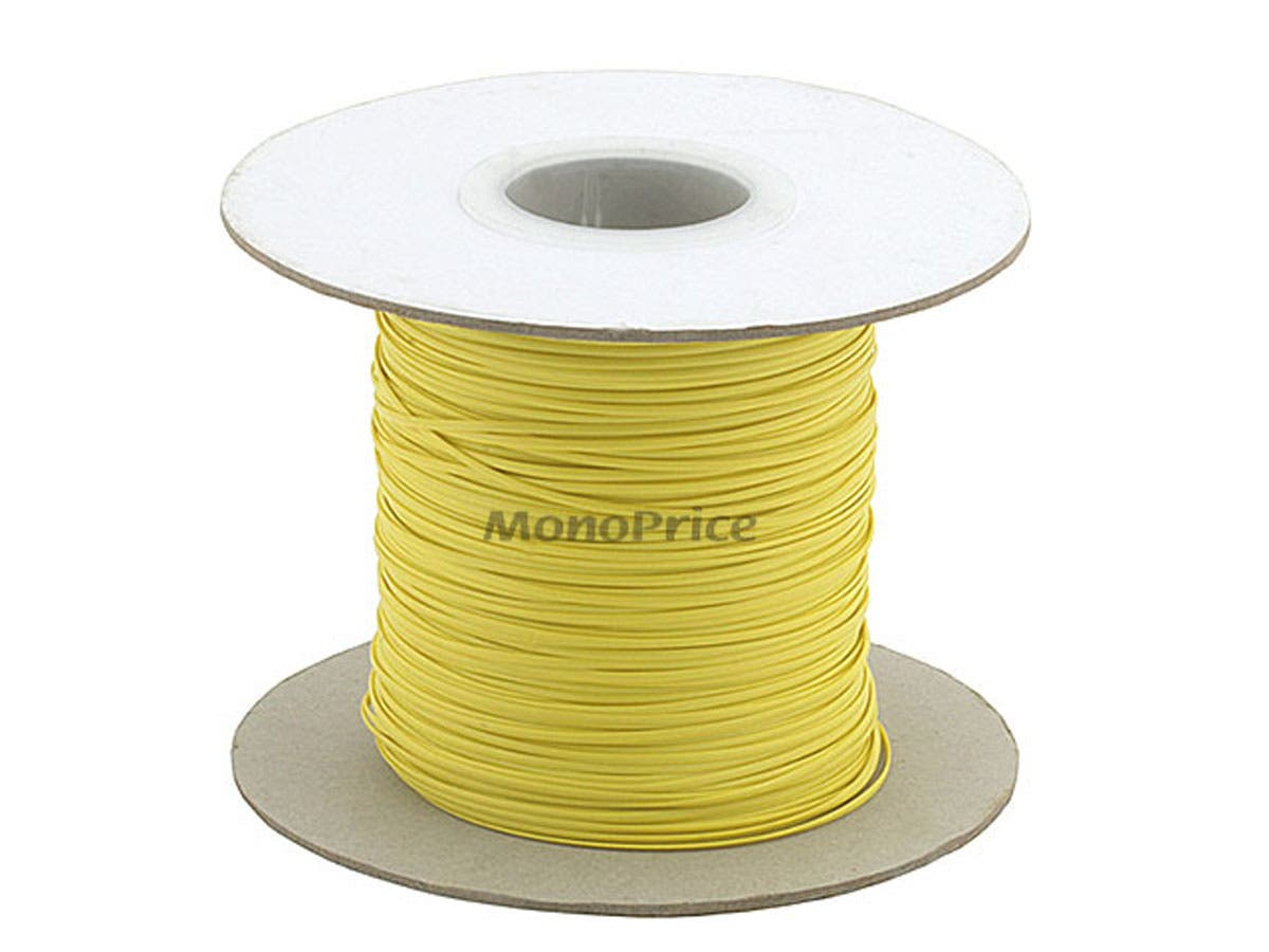 Large Product Image for Wire Cable Tie 290M/Reel - Yellow