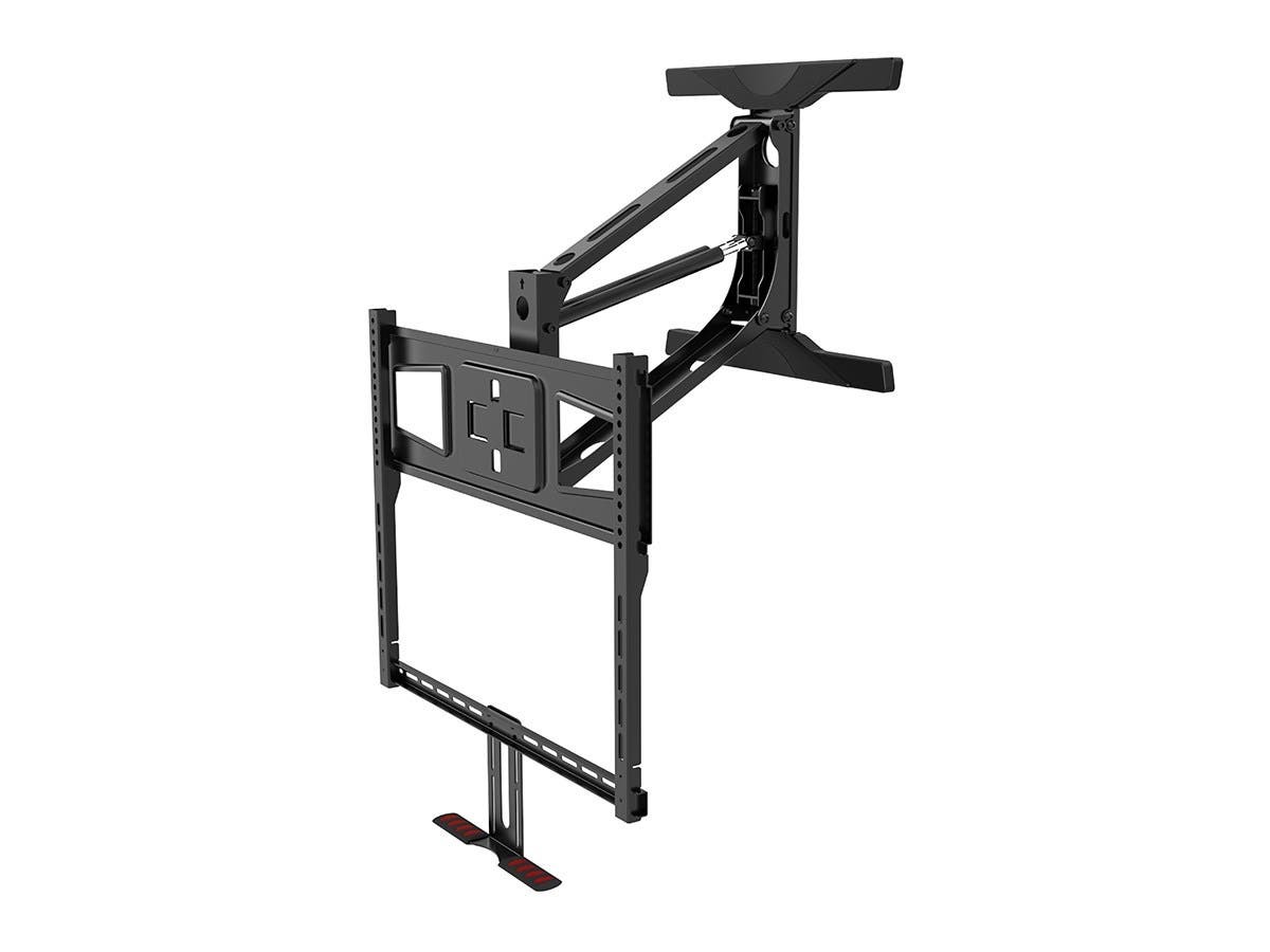 Above Fireplace Pull Down Full Motion Tv Wall Mount
