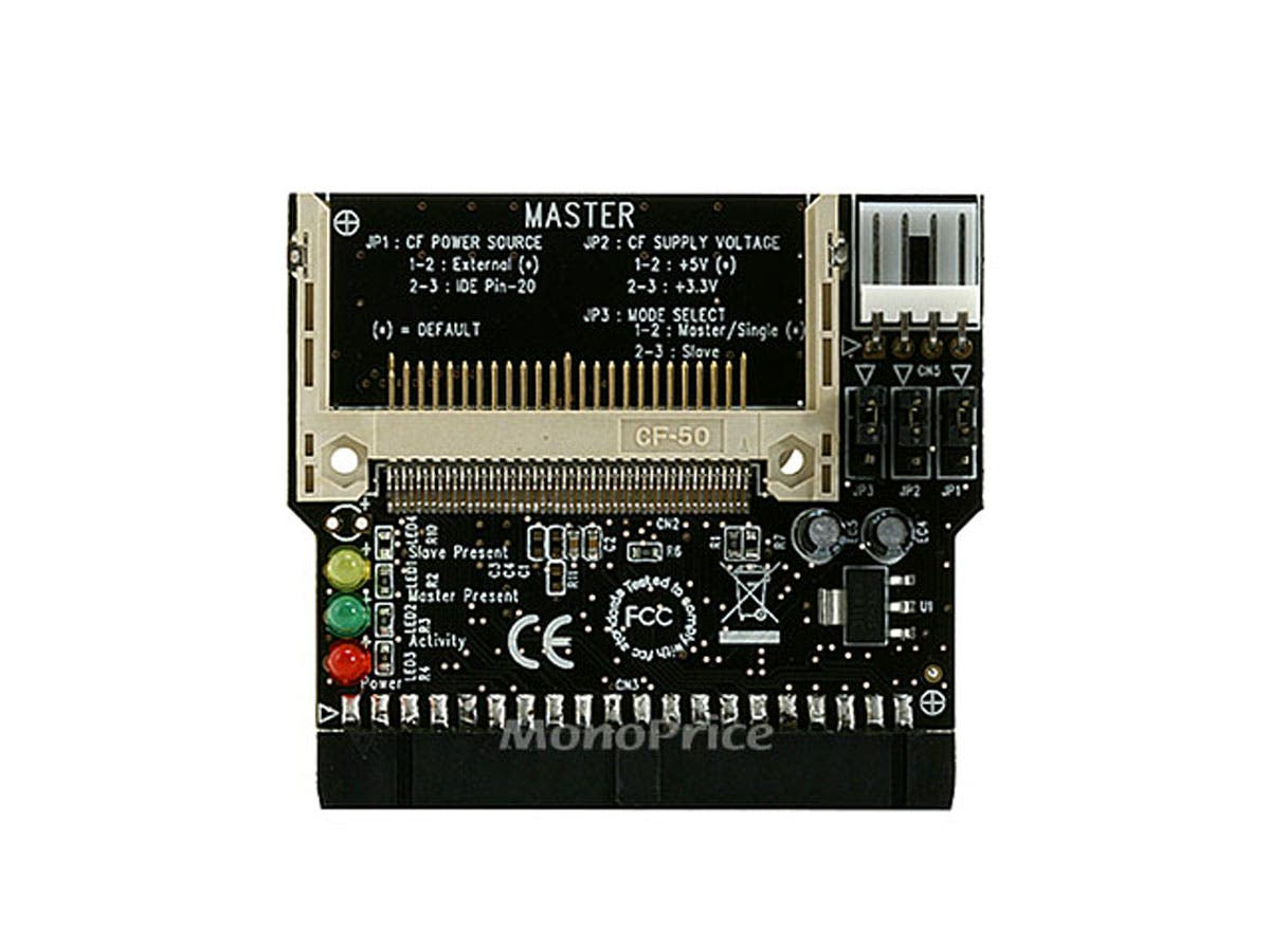 Large Product Image for IDE to Compact Flash CF Adapter, Direct Insertion [B1]