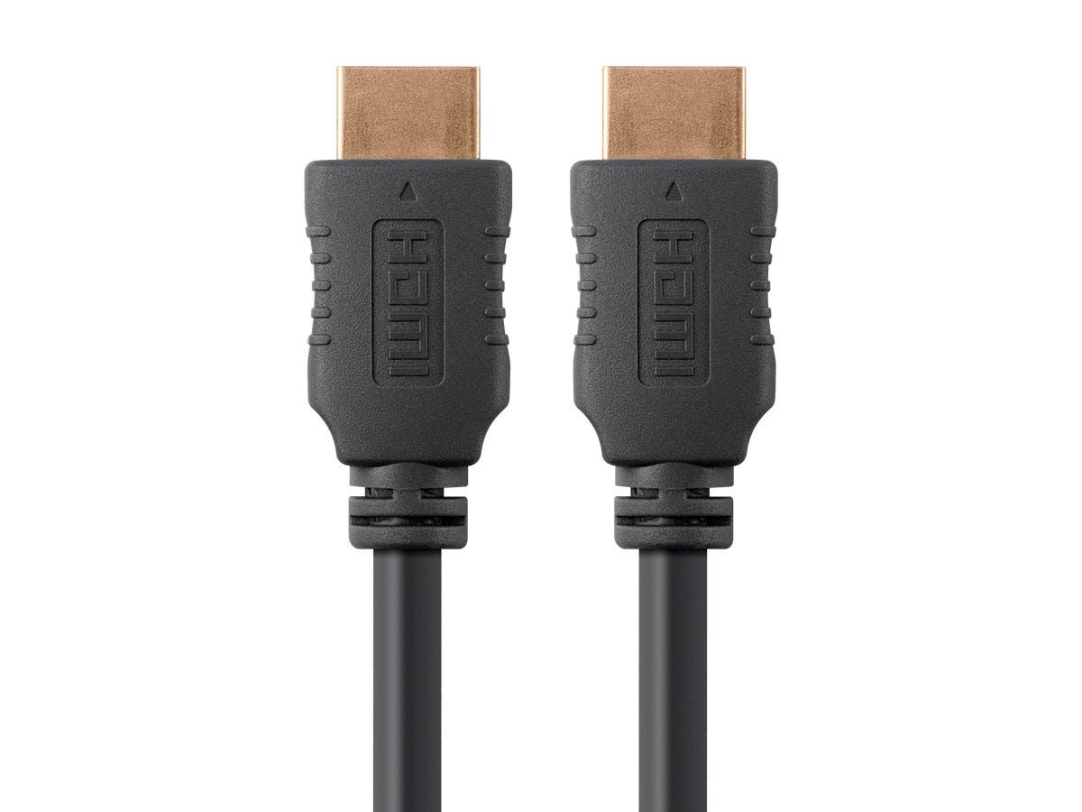 Large Product Image for 6ft 28AWG High Speed HDMI® Cable w/Ferrite Cores - Black
