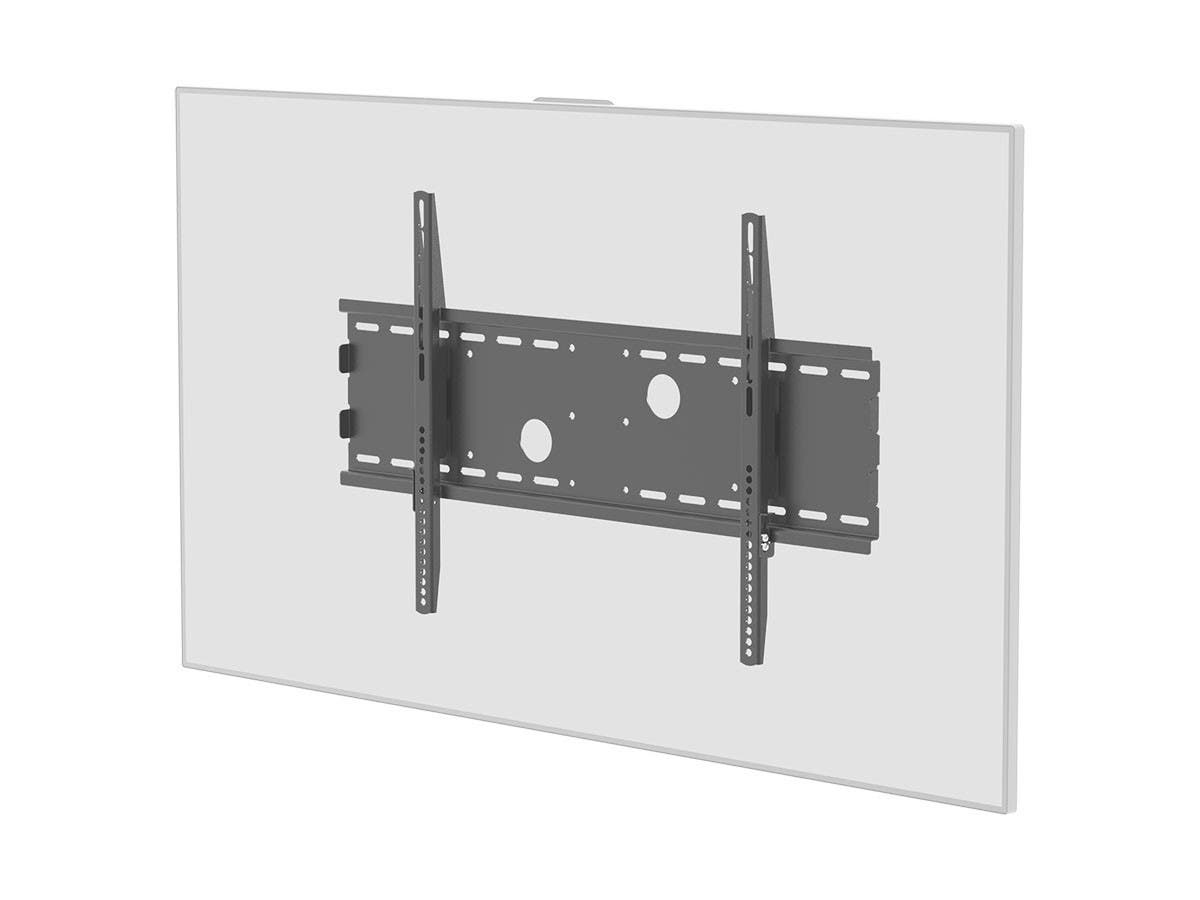 Large Product Image for Low Profile Wall Mount Bracket for LCD LED Plasma (Max 165Lbs, 30~63inch) - BLACK 