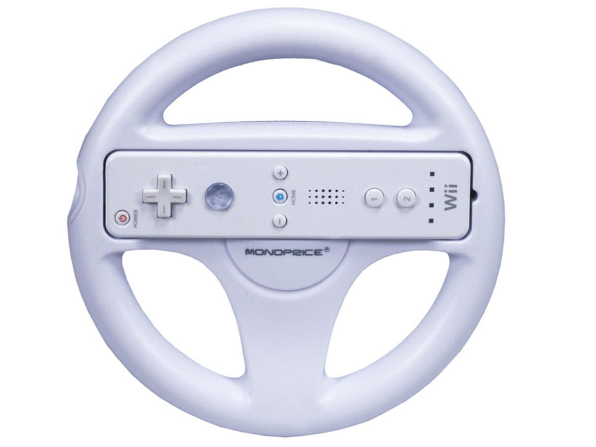 Large Product Image for Mario Steering Wheel for Wii
