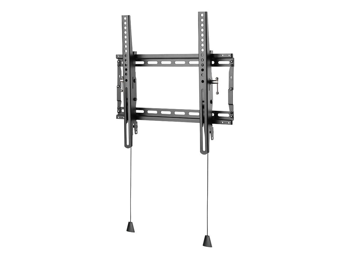 Large Product Image for Ultra-Slim Adjustable Tilting Wall Mount Bracket for LCD LED Plasma (Max 165Lbs, 23~37inch) - BLACK