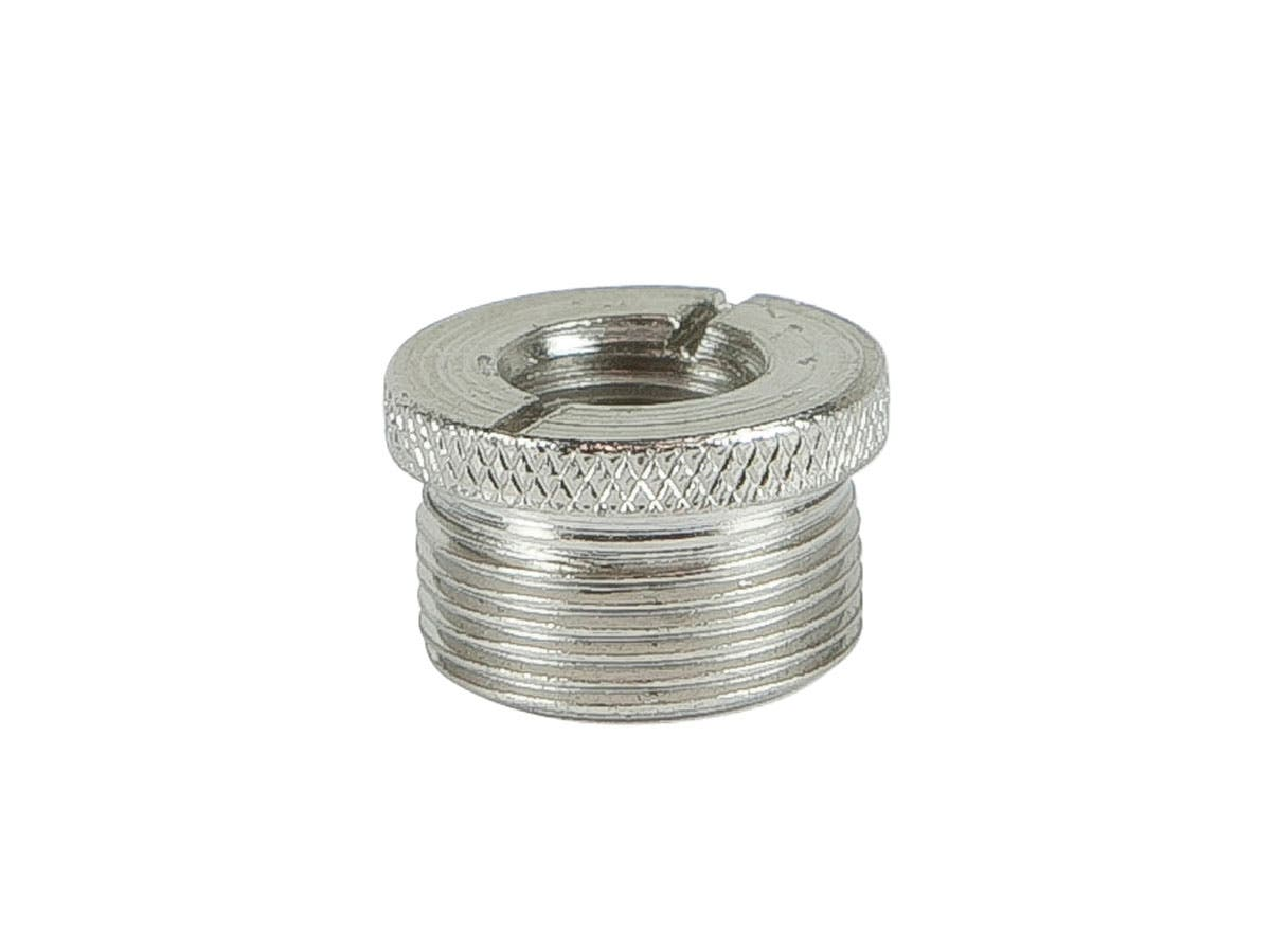 Screw thread adapter for microphone stand quot male to