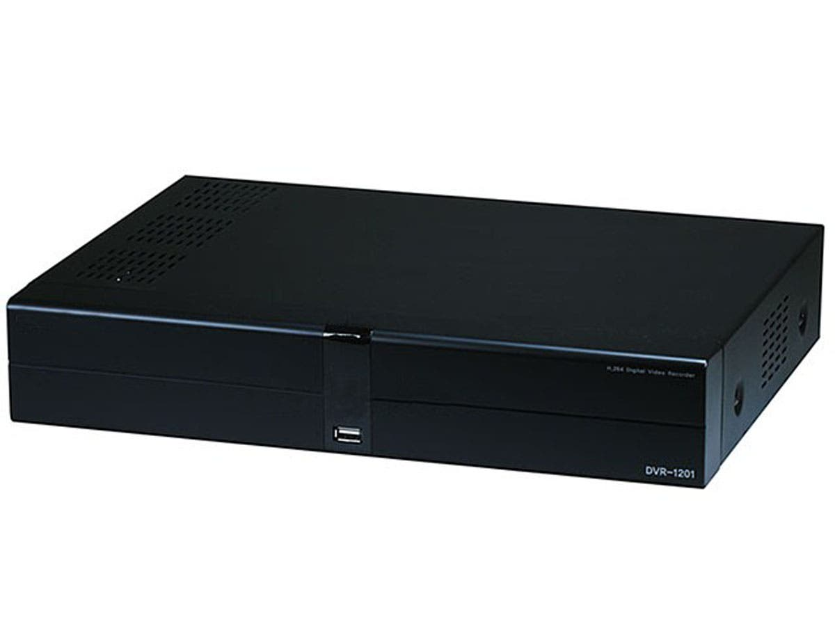 Large Product Image for 4 Channel H.264 Digital Video Recorder (Compact Version W/Mobile Support) (DVR) - 120FPS