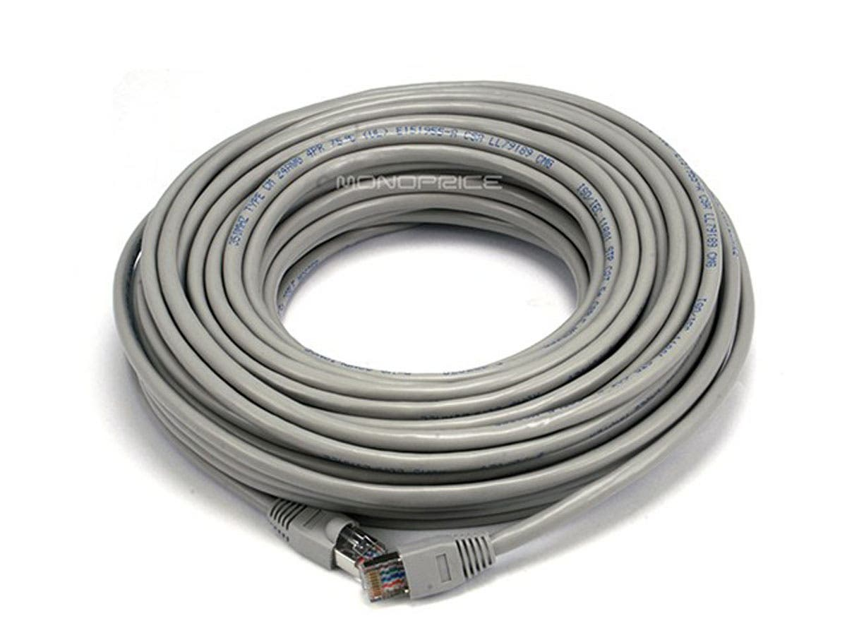 300ft Cat5e Shielded Stp Patch Ethernet Network 24awg Black Cable Bootless 5 Foot Part Number 10x6 75ft Gray