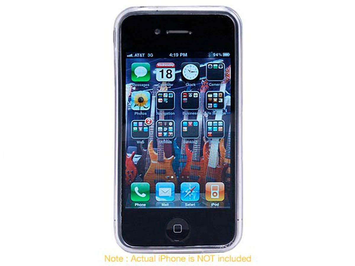 Large Product Image for TPU Case for AT&T iPhone® 4 - Clear