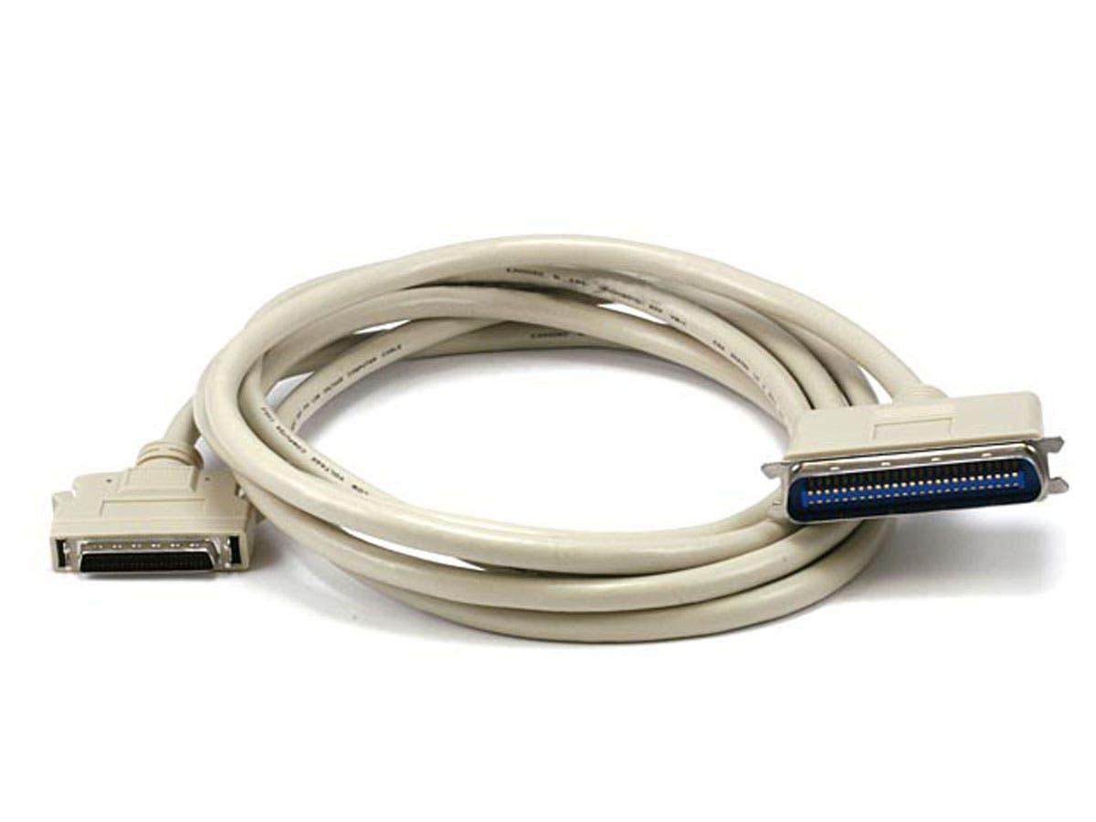Large Product Image for HPDB50 M/CN50 M SCSI Cable , 25PR -10ft
