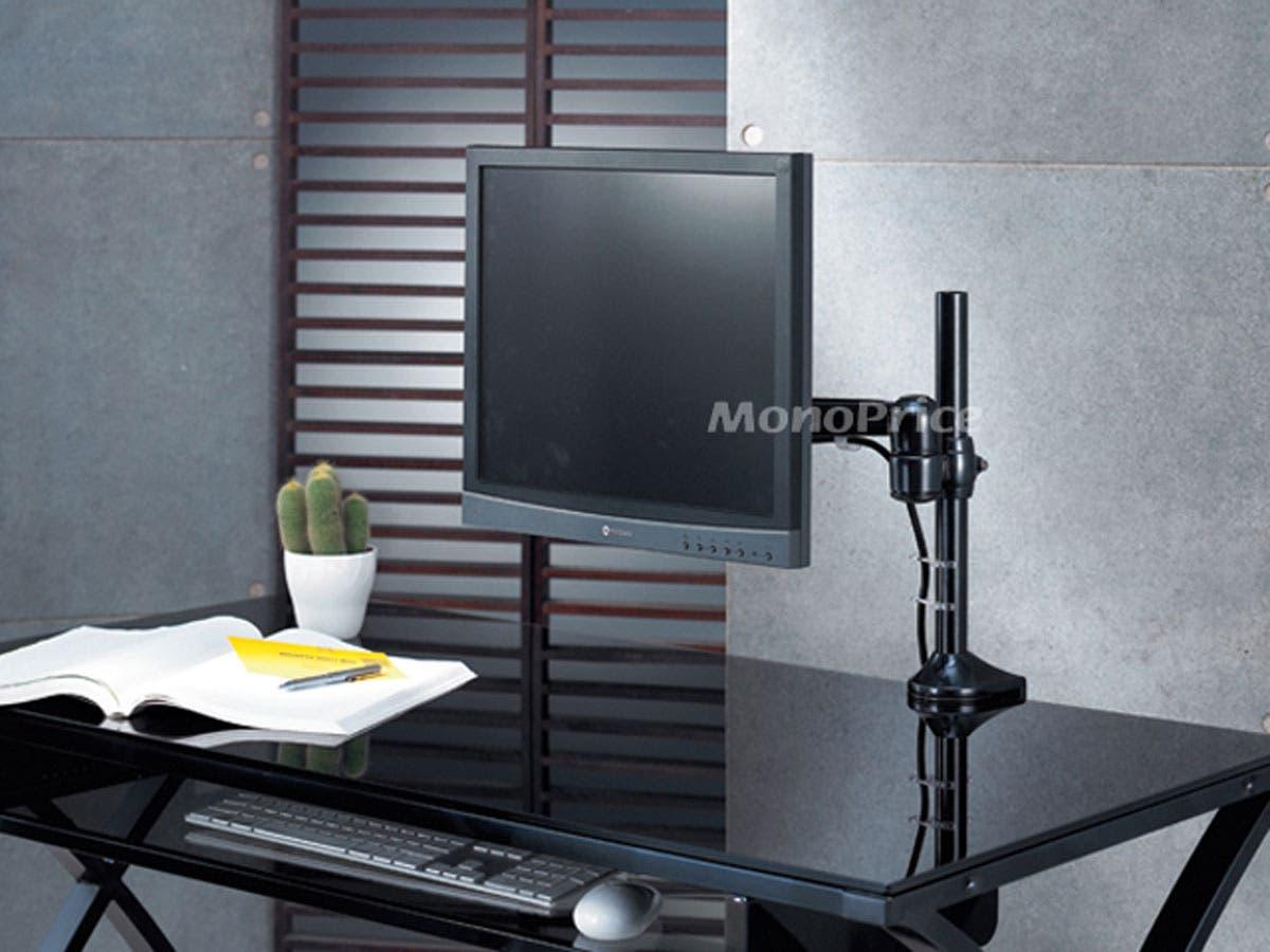 High Quality Adjustable Tilting Desk Mount Bracket For Lcd