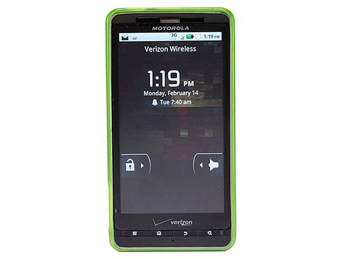 Large Product Image for TPU Case for Motorola Droid X & Droid X2 - Green