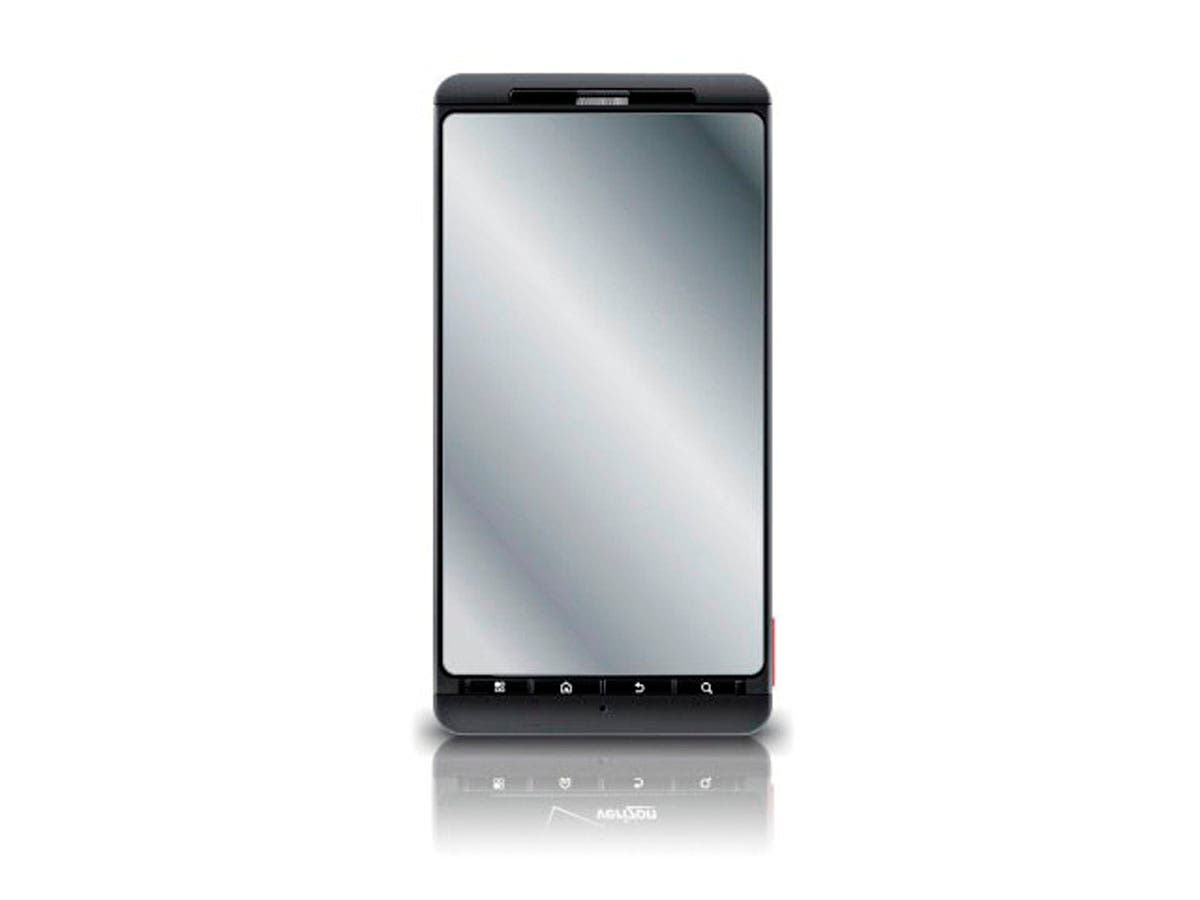 Large Product Image for Screen Protective Film w/Mirror Finish for Motorola Droid X & Droid X2