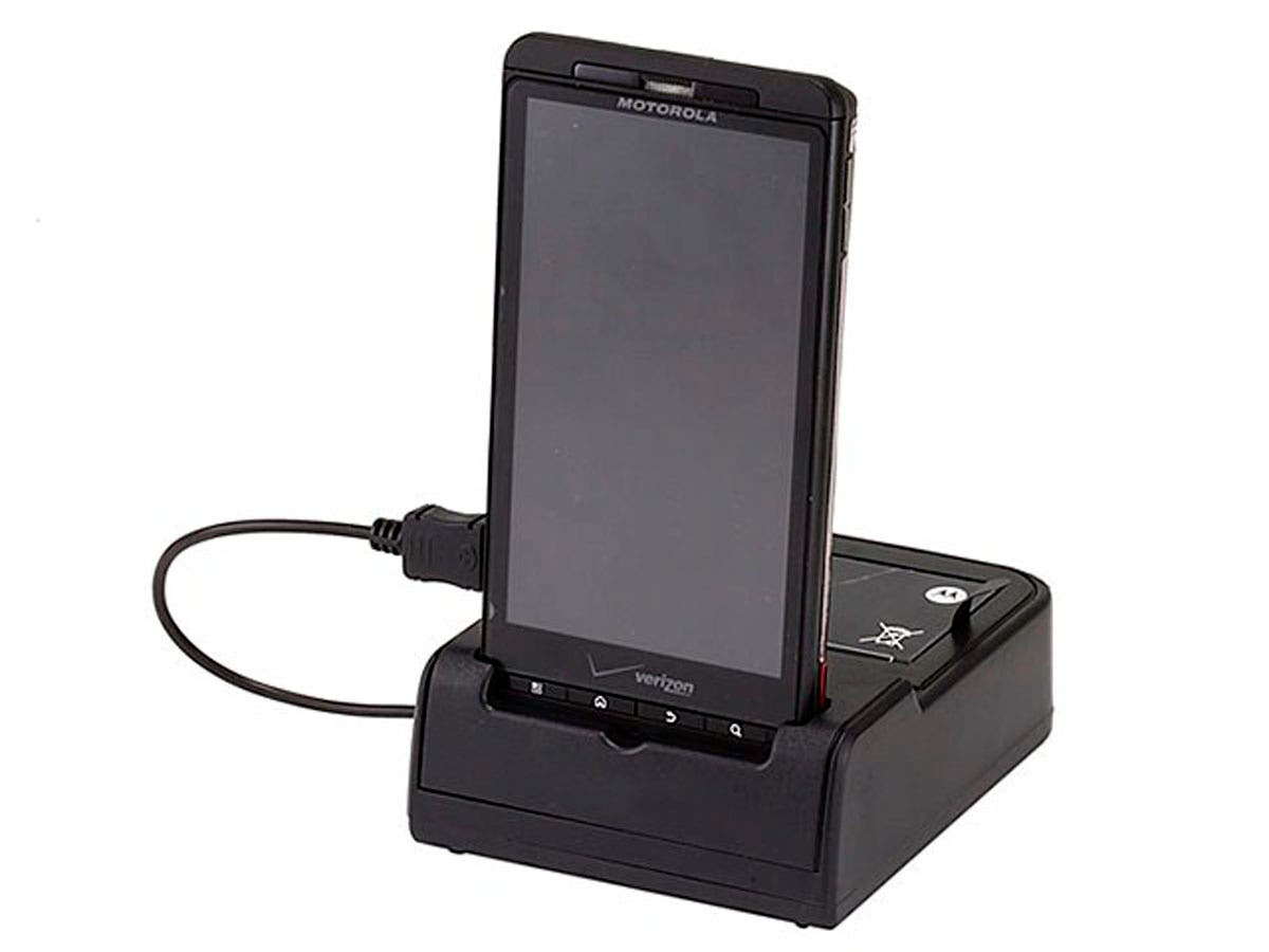Large Product Image for Data Sync and 2nd Battery Charge Cradle for Droid X & Droid X2