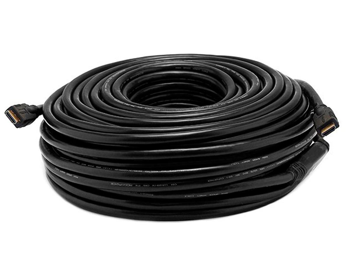 Large Product Image for 100ft 26AWG CL2 Standard HDMI® Cable w/ Built-in Equalizer - Black