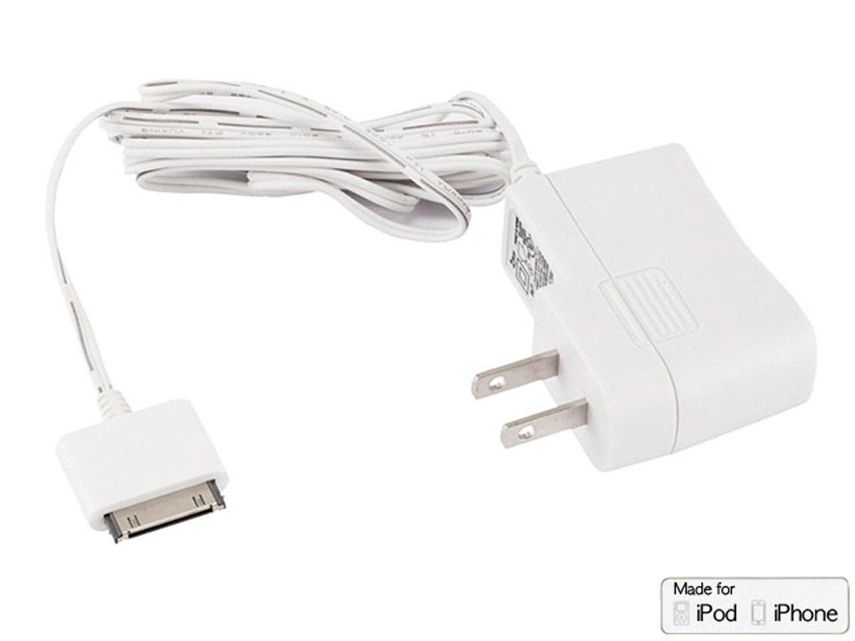 Large Product Image for Wall Charger for all 30-pin iPhone® and iPod® - White
