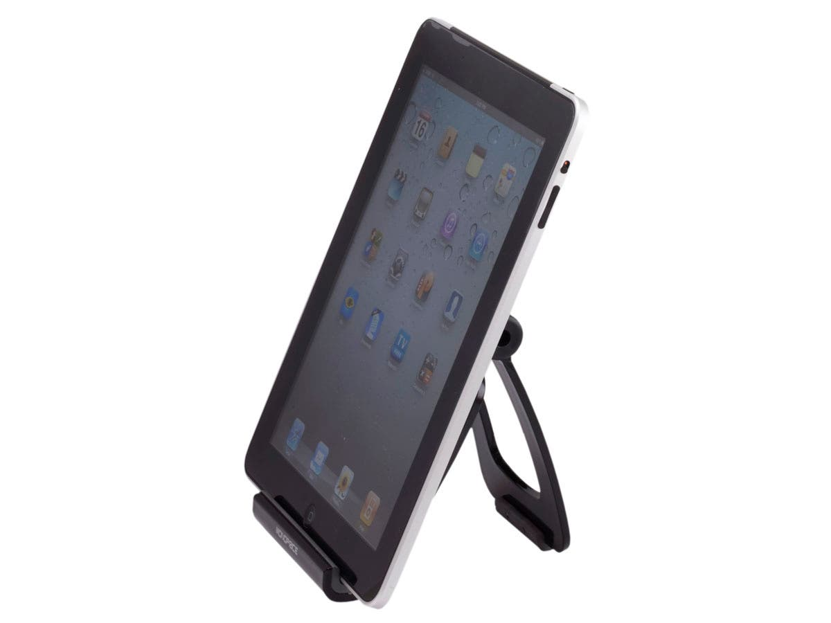 Large Product Image for V-Frame Foldable Desktop Stand for all iPad� - Black