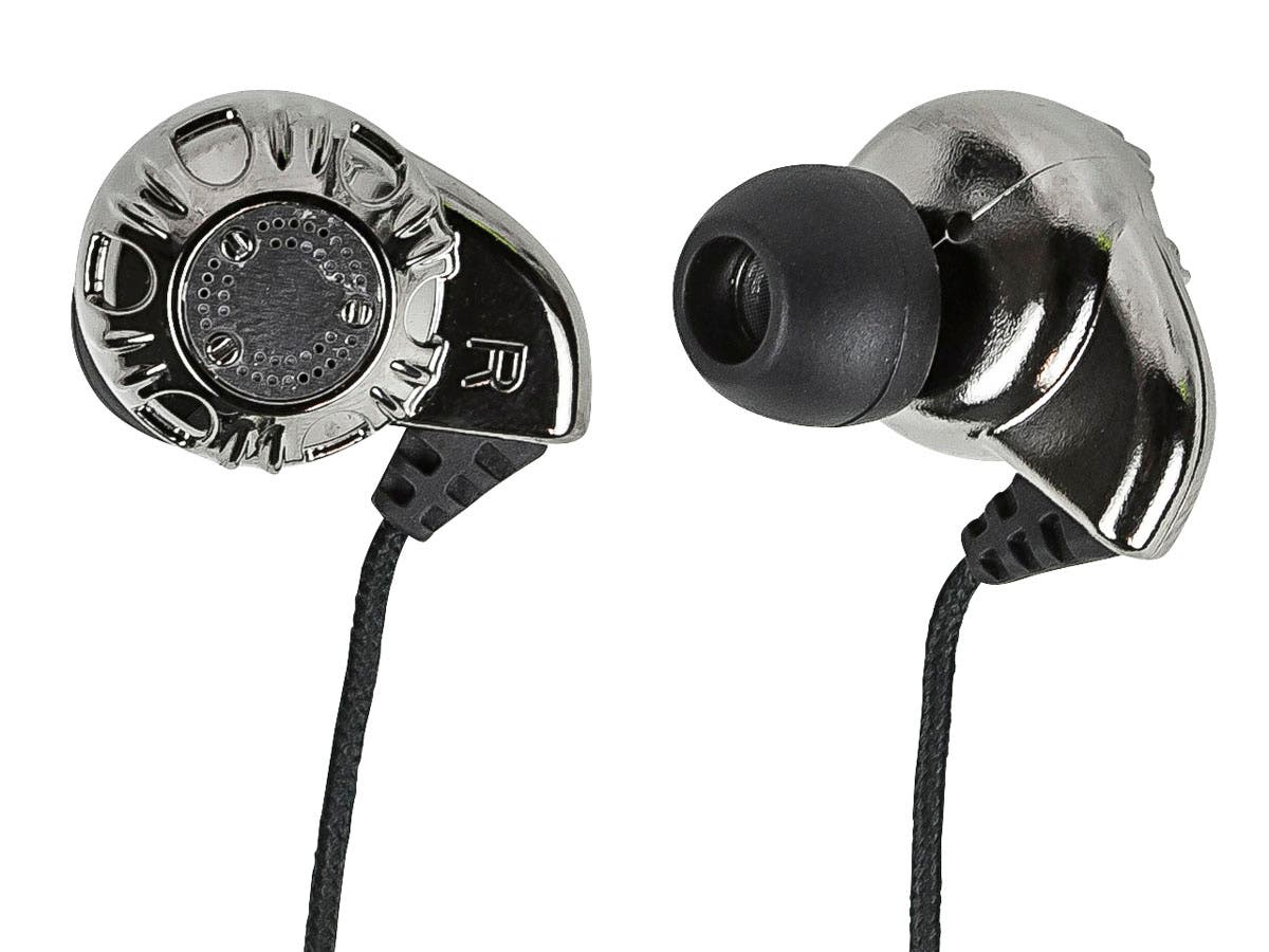 Large Product Image for Enhanced Bass Hi-Fi Noise Isolating Earphones - Silver