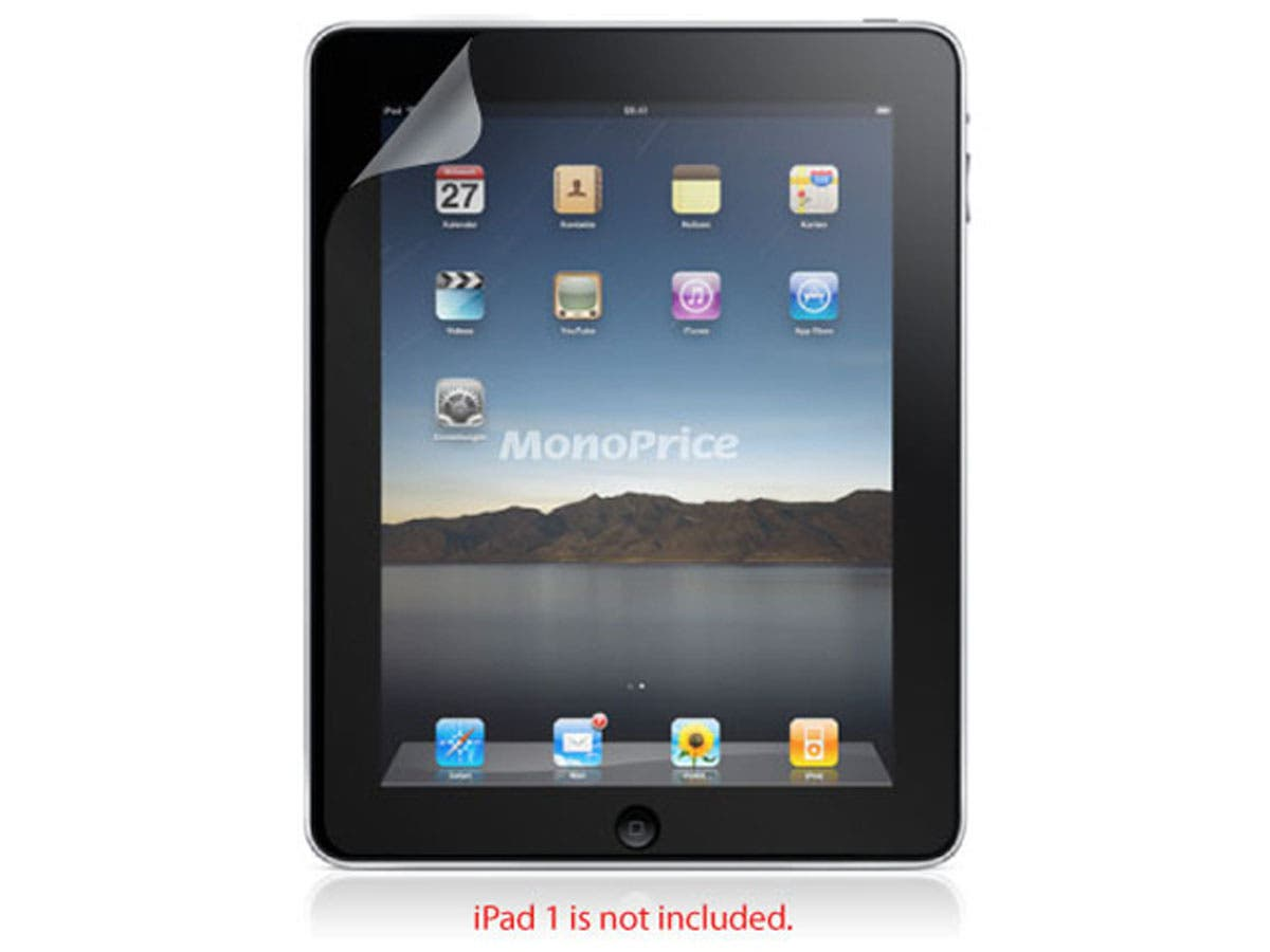 Large Product Image for Screen Protective Film w/ Privacy Finish for iPad® 1