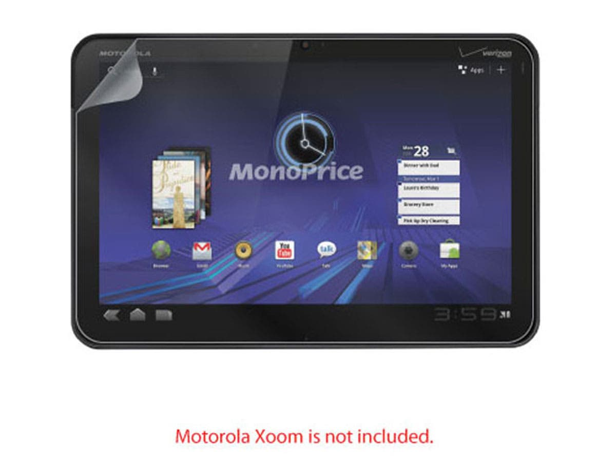 Large Product Image for Screen Protective Film w/ Privacy Finish for Motorola Xoom