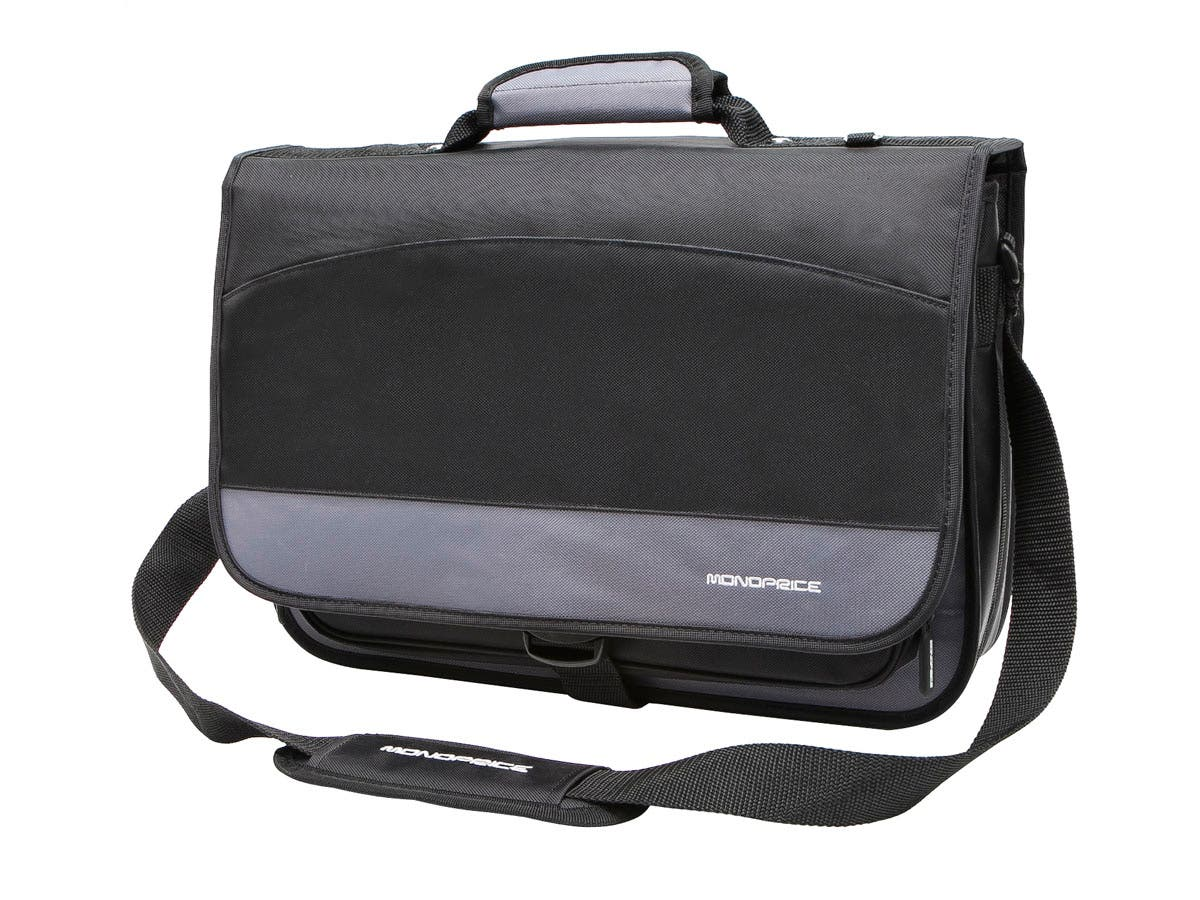 Large Product Image for 16-inch Premium Laptop Messenger - Black