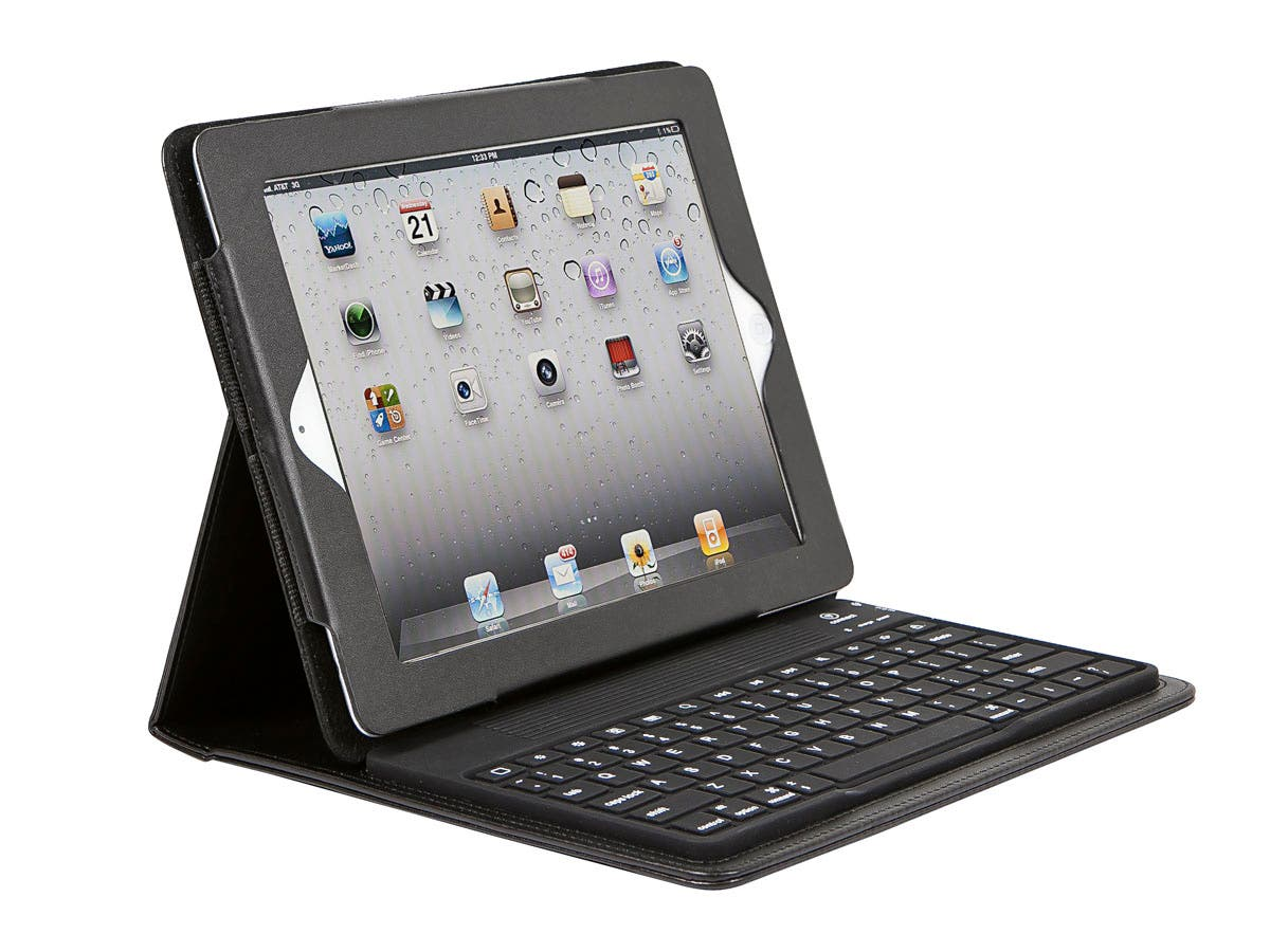 Large Product Image for Keyboard Folio w/ Silicone Keys for all 9.7-inch iPad®