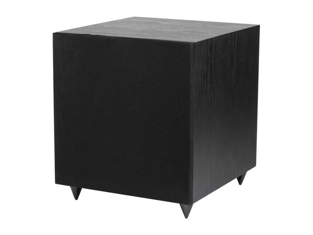 12 Inch 150 Watt Powered Subwoofer Black Monoprice Com