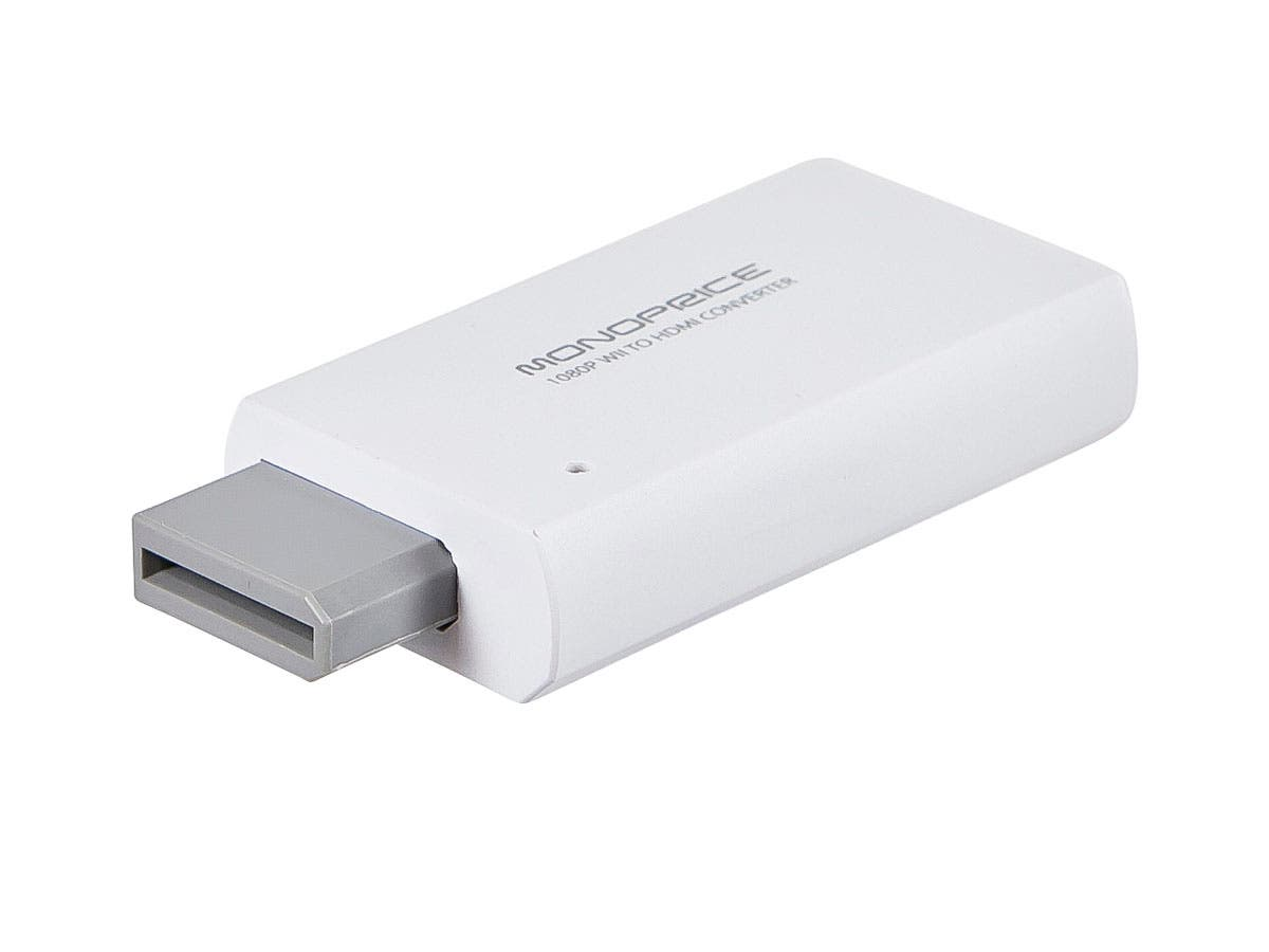 Large Product Image for Wii to HDMI Converter-White