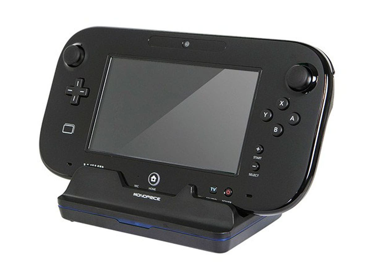 tablet charging dock for wii u