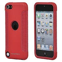 Product Image for Sure Grip PC+TPU Case for iPod® Touch 5th Generation - Red