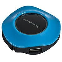 Product Image for USB 2.0 Mini Travel Hub - Blue