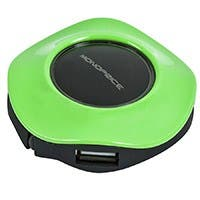USB 2.0 Mini Travel Hub - Green
