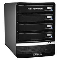 "3.5"" 4-Bay Button Tray USB 3.0 