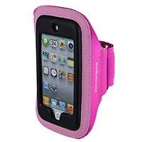 Product Image for Neoprene Sports Armband for iPod® Touch 5th Generation - SM/MED - Pink