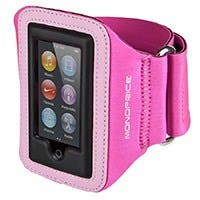 Product Image for Neoprene Sports Armband for iPod® Nano 7th Generation - SM/MED - Pink