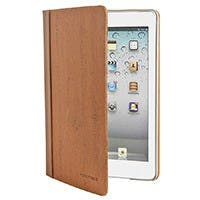 Lumber Stand/Cover with Magnetic Latch for iPad mini™ - Burnt Orange