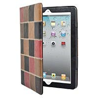 PatchWork Genuine Leather Cover and Stand for all 9.7-inch iPad®