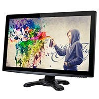 "27"" IPS-Glass Panel Pro LED  Monitor WQHD 2560x1440- 440cd/m2 - HDMI® / DVI / VGA / DisplayPort 1.2 w/Built in Speakers"