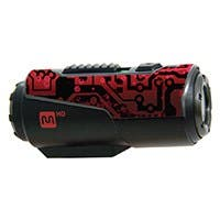 MHD Action Camera Skin - 3pack - Red