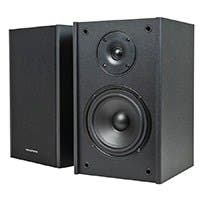 Premium 5.25 Inch 2-Way Bookshelf Speakers (Pair) - Black Finish