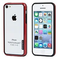PC+TPU Edge Bumper for iPhone® 5c - Red