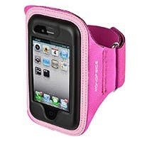 Neoprene Sports Armband for iPhone® 5/5s/5c - LG/XL - Pink