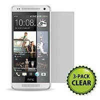Screen Protector (3-Pack) w/ Cleaning Cloth for HTC One™ Mini - Transparent Finish